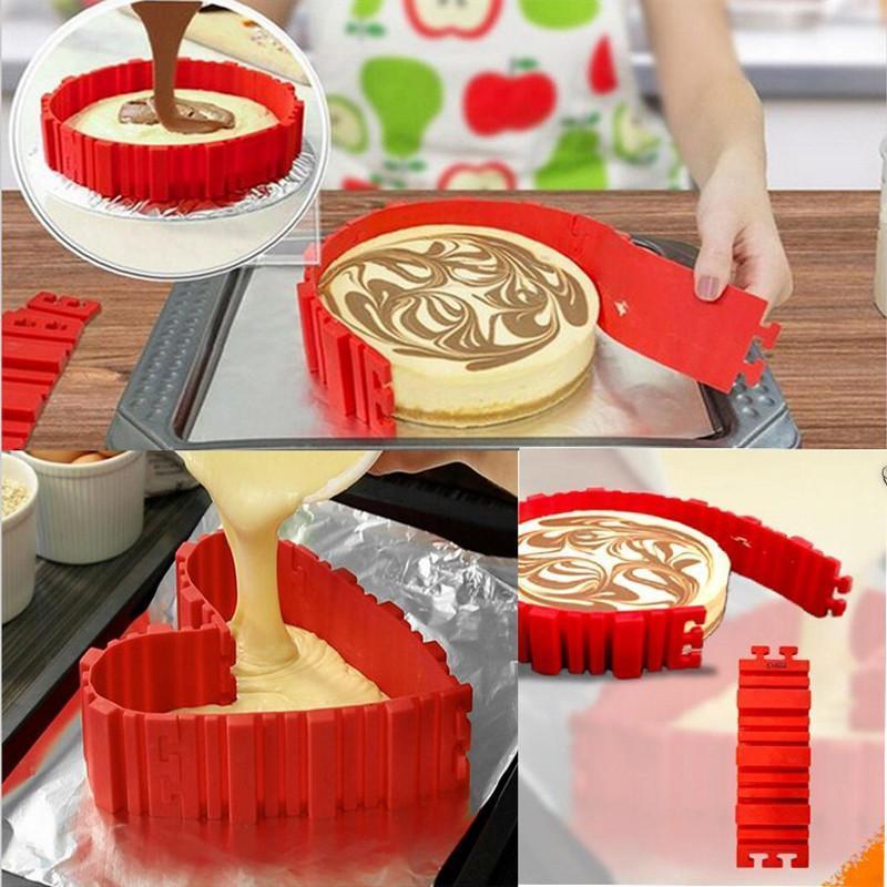 L'incroyable moule à gâteau en silicone