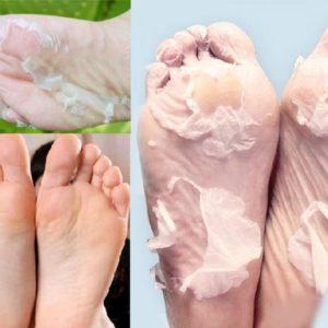 Masque exfoliant pour pieds