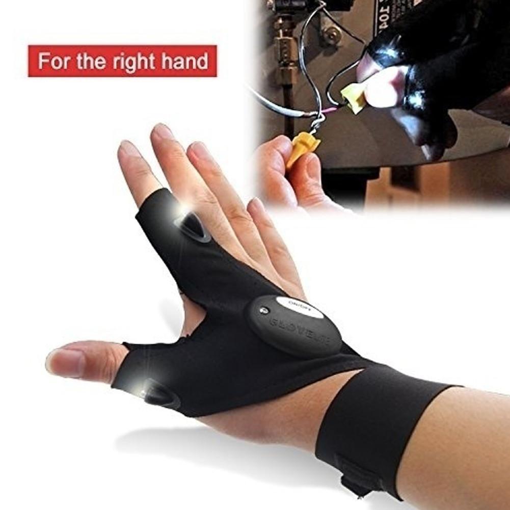 Le  magique gant de travail LED