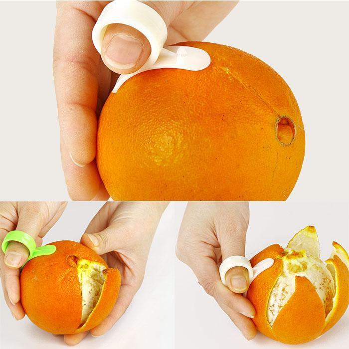 Épluche agrume / Citron et orange