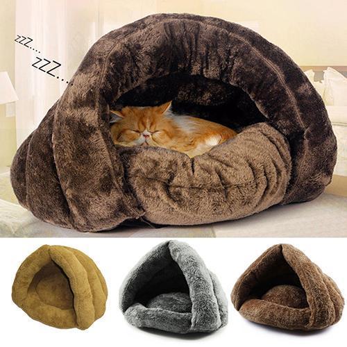 Grotte pour chiots et chats