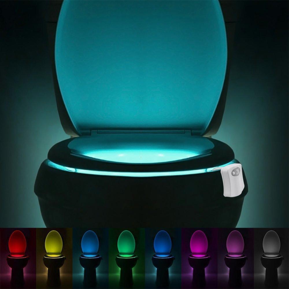 Lumière de toilette et détecteur de mouvement