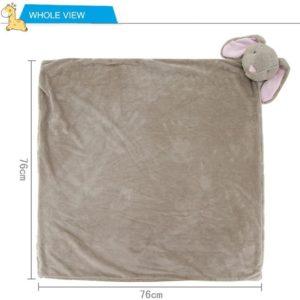 Couverture avec peluche pour bébé