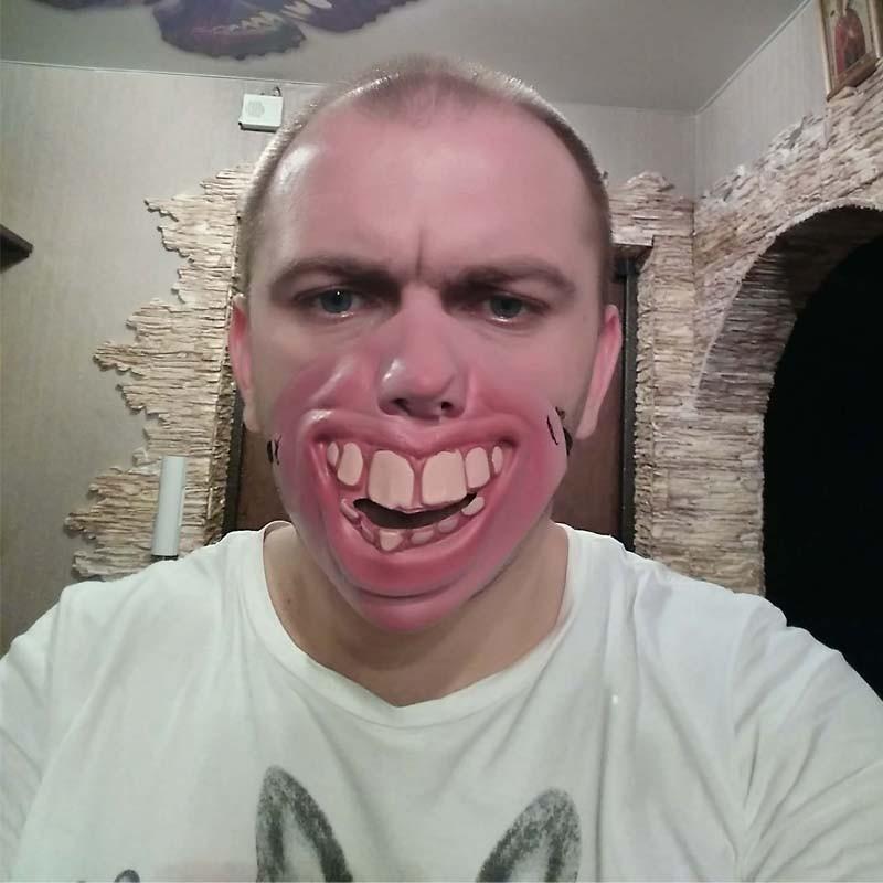 Drôle Déguisement d'Halloween