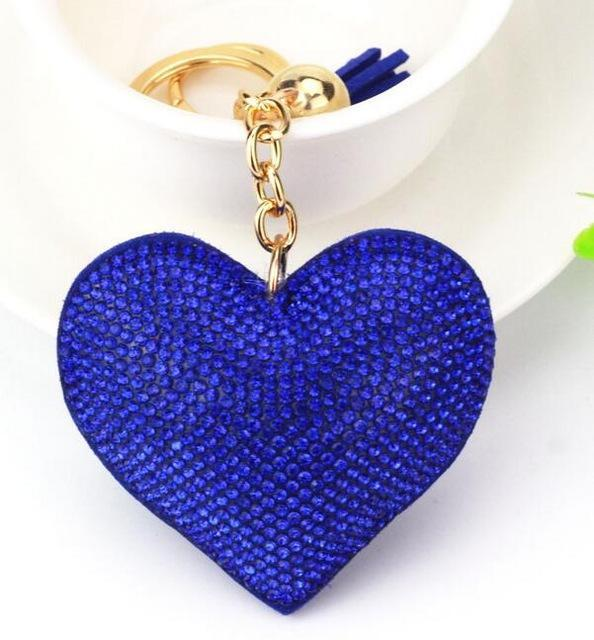 Porte clés en forme de cœur