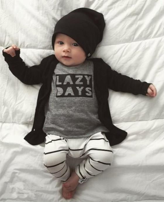 LazyBaby™ Ensemble automne et hiver pour garçons