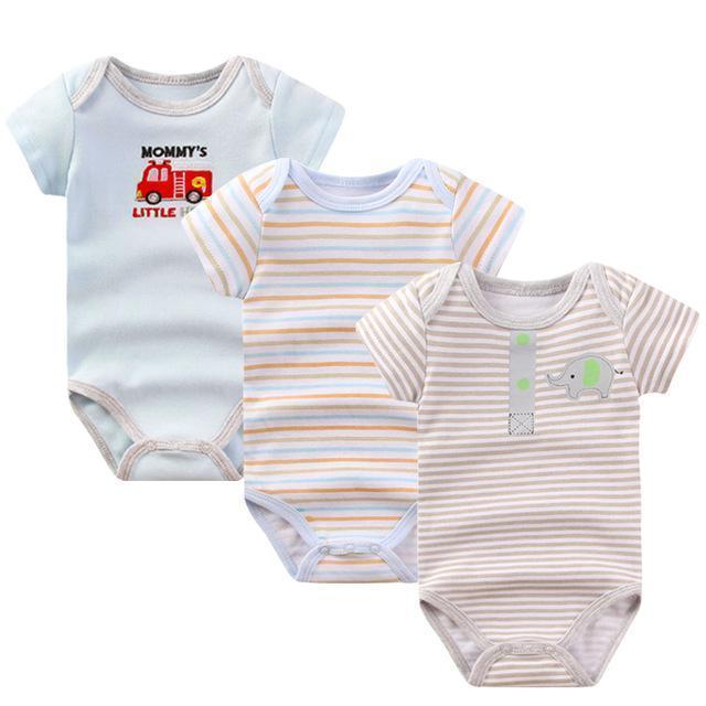 Combishort Barboteuse Eté-Automne pour bébé