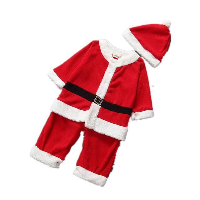 Costume-Robe de noël pour enfants
