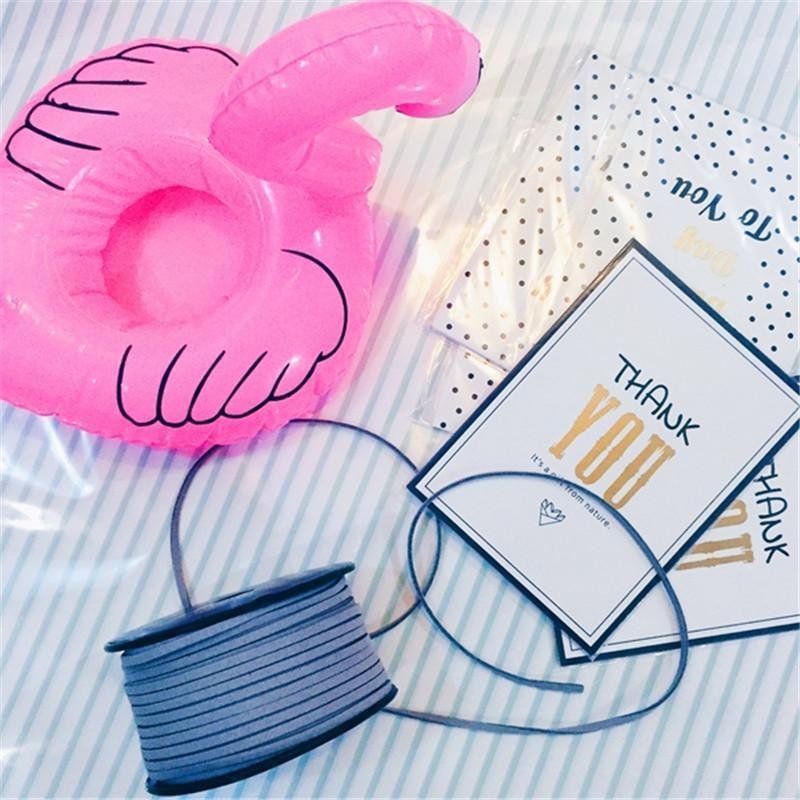 Mini flamant Gonflable - Lot de 10 pièces