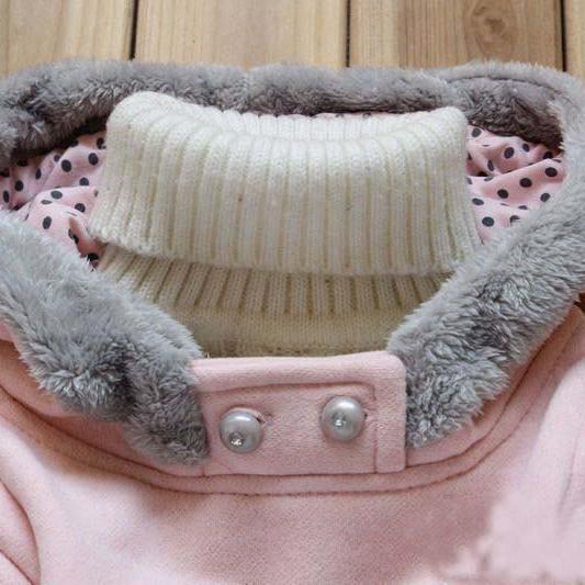 Manteau pour filles avec motif bande Dessinée