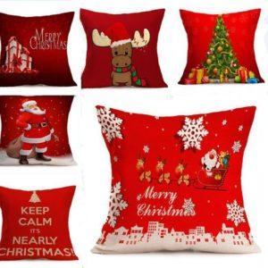 Taie d'oreiller de décoration de Noel