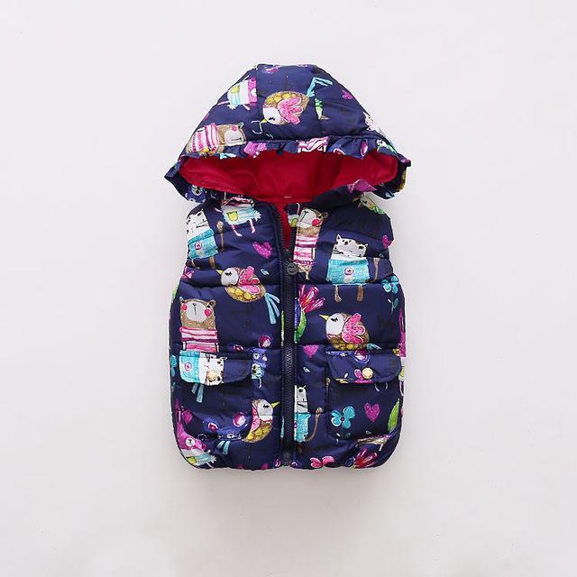 Doudoune avec capuche pour enfants