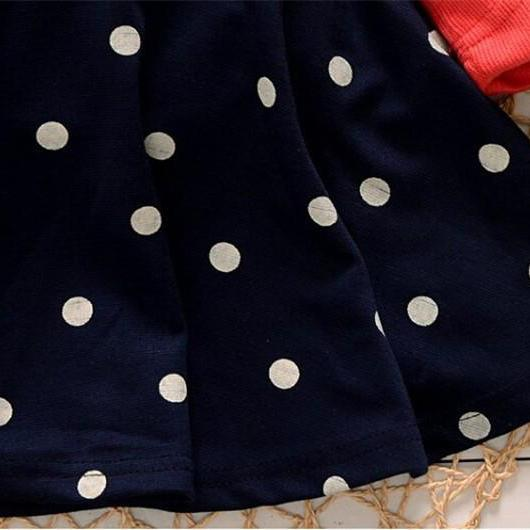 Jolie robe de noël pour petite fille