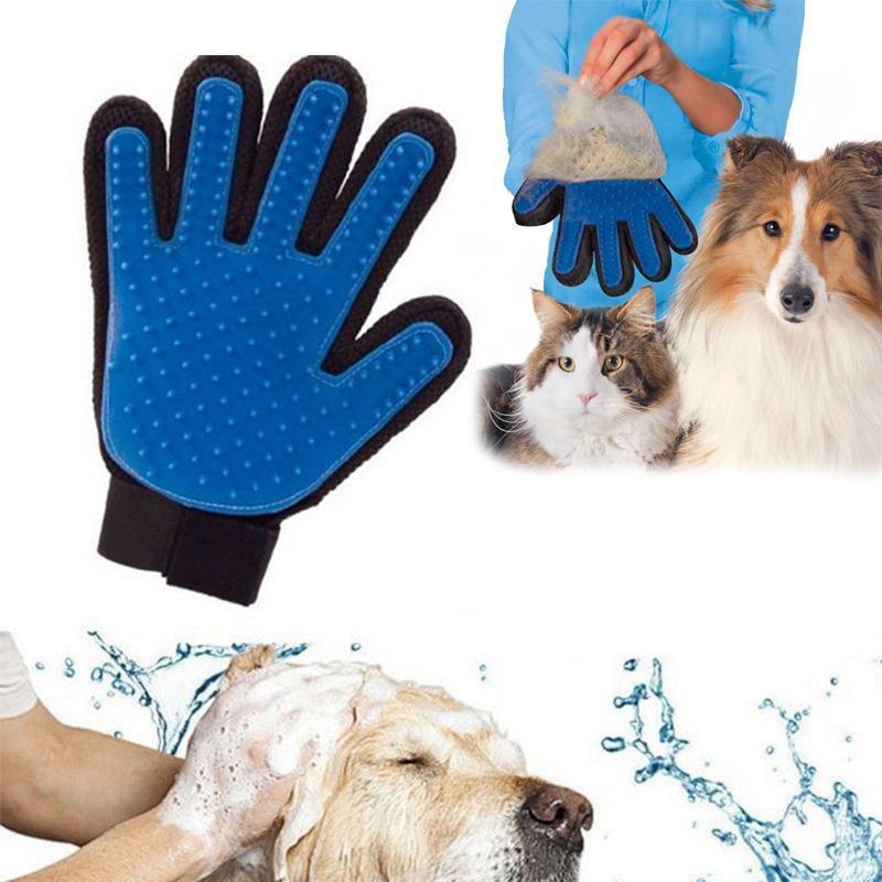 Gant ramasse poils pour chiens et chats