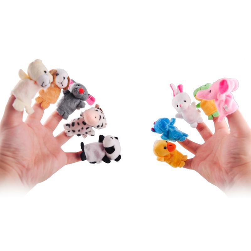Marionnettes à doigt (Lot de 10 pièces )