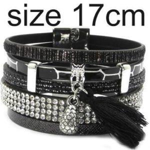 Super bracelet en cuir pour femmes