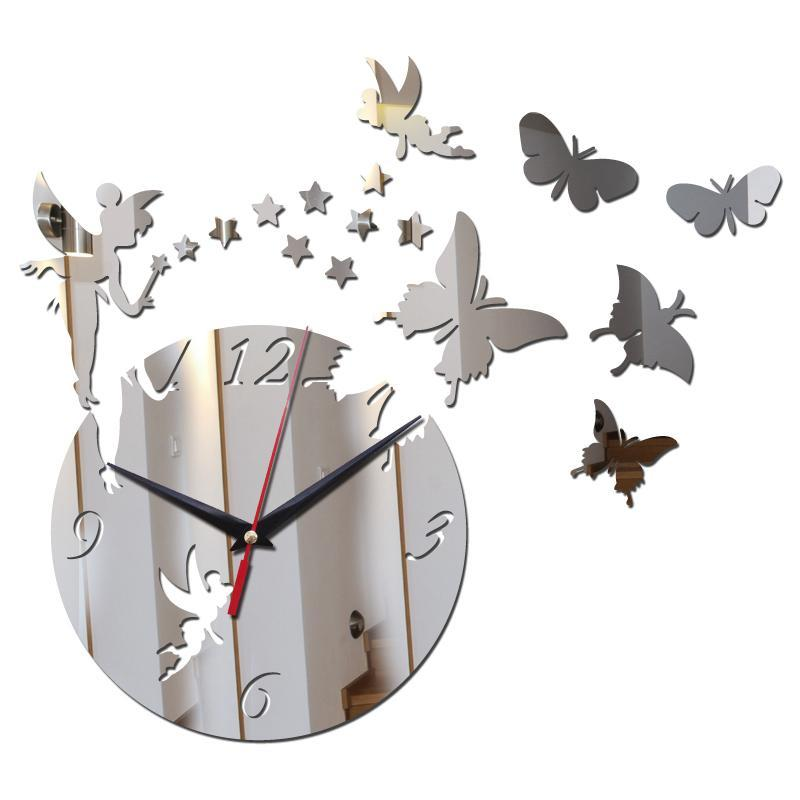 Horloge décorative murale 3D