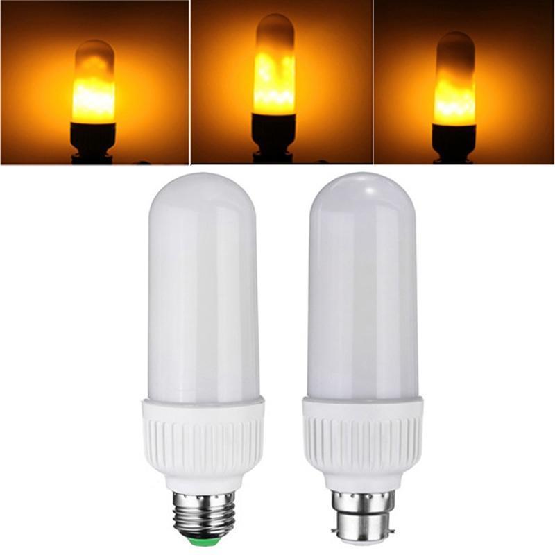 Ampoule décorative en forme de feu