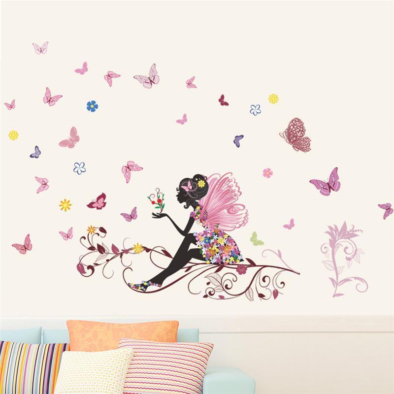 Stickers papillons Pour Décoration Murale