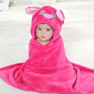 Peignoir-serviette de bain pour enfant