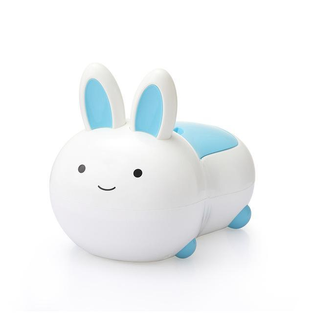 Pot de toilette en forme de lapin
