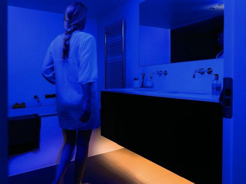 Lumière LED avec détecteur de mouvement