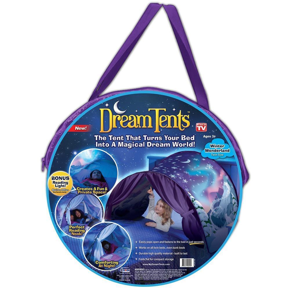 Tente magique pour lit d'enfants
