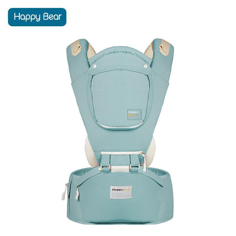 Porte bébé en coton avec siège