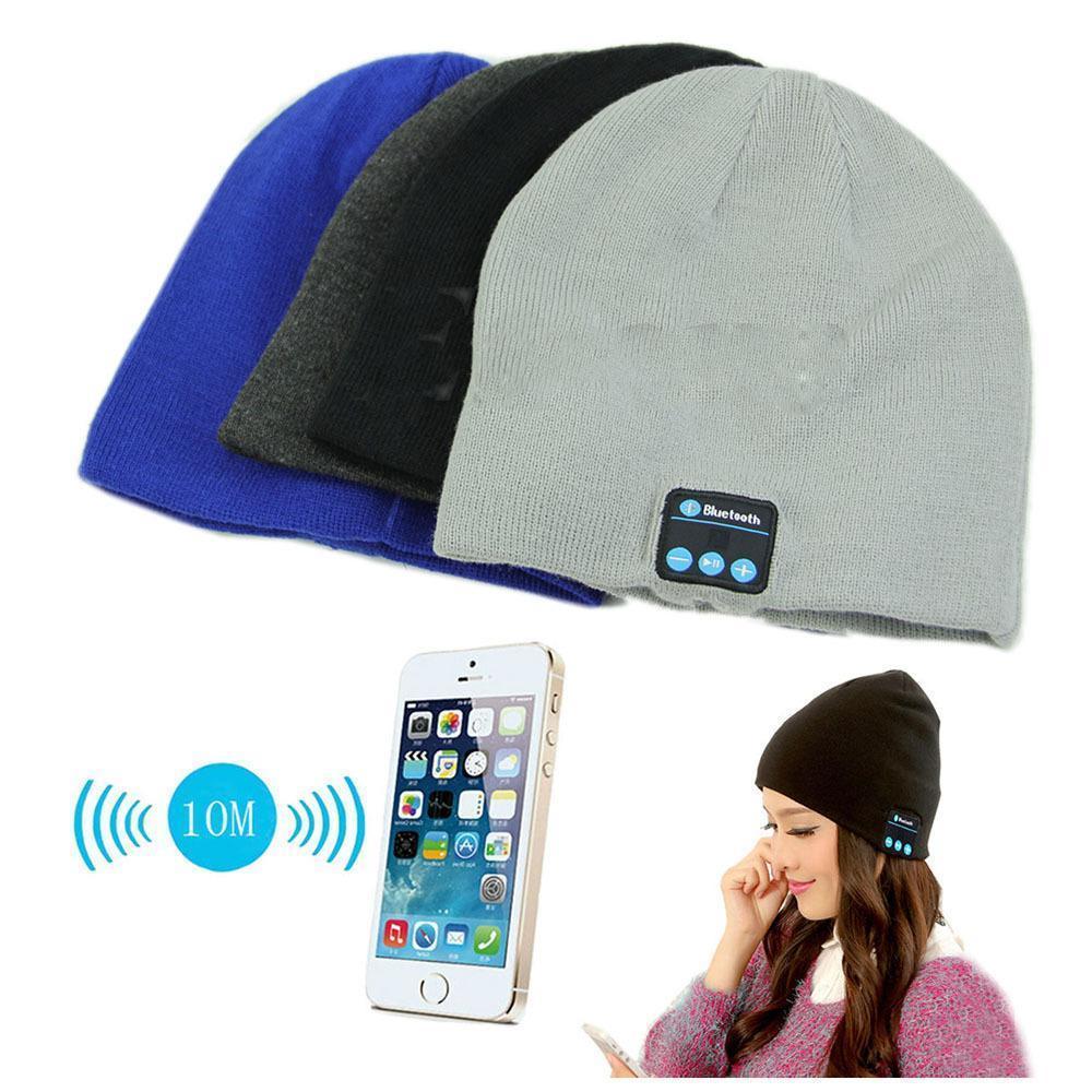 Bonnet bluetooth avec écouteurs Stéréo