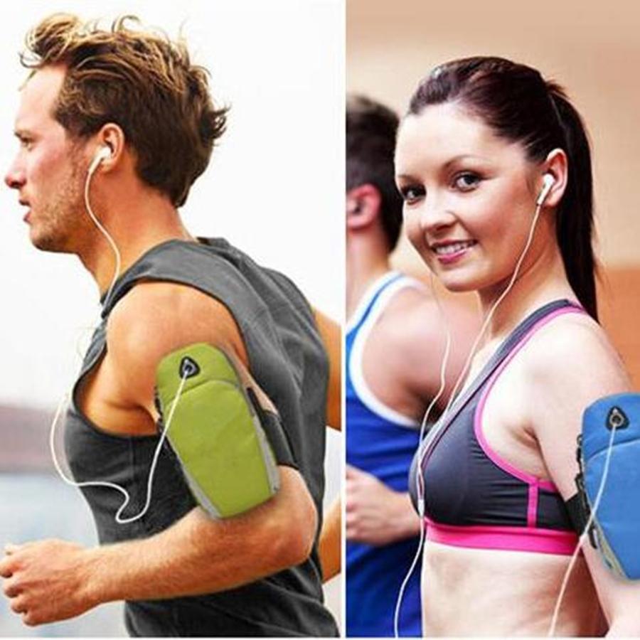 Pochette de sport pour téléphones et écouteurs