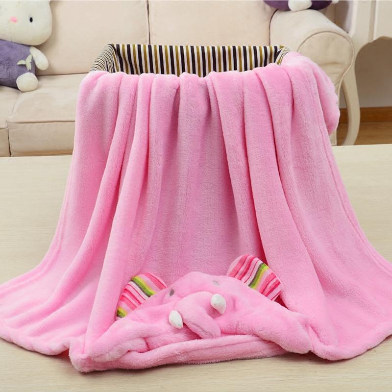 Peignoir et serviette à motif mignon