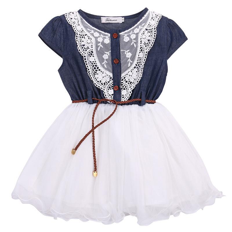 Super robe d'été avec mini ceinture