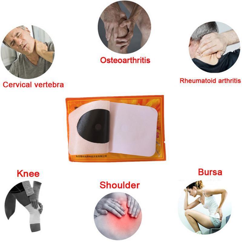 Patchs de soulagement des douleurs (10 pièces)