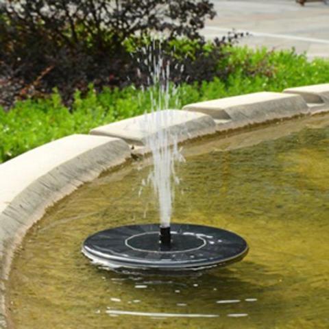 Fontaine solaire écologique