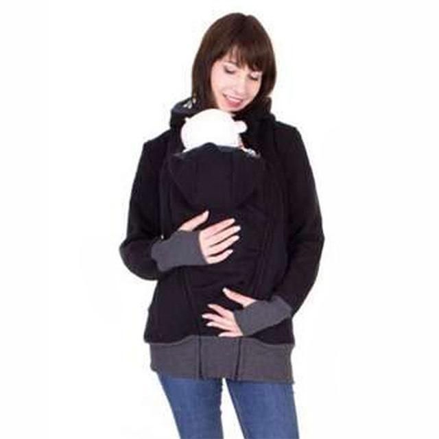 BABYCAPUCHE™ Veste commune automne / hiver pour bébé et maman