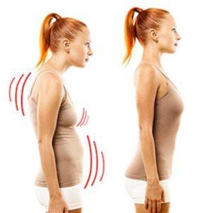 Support dorsal magnétique en néoprène