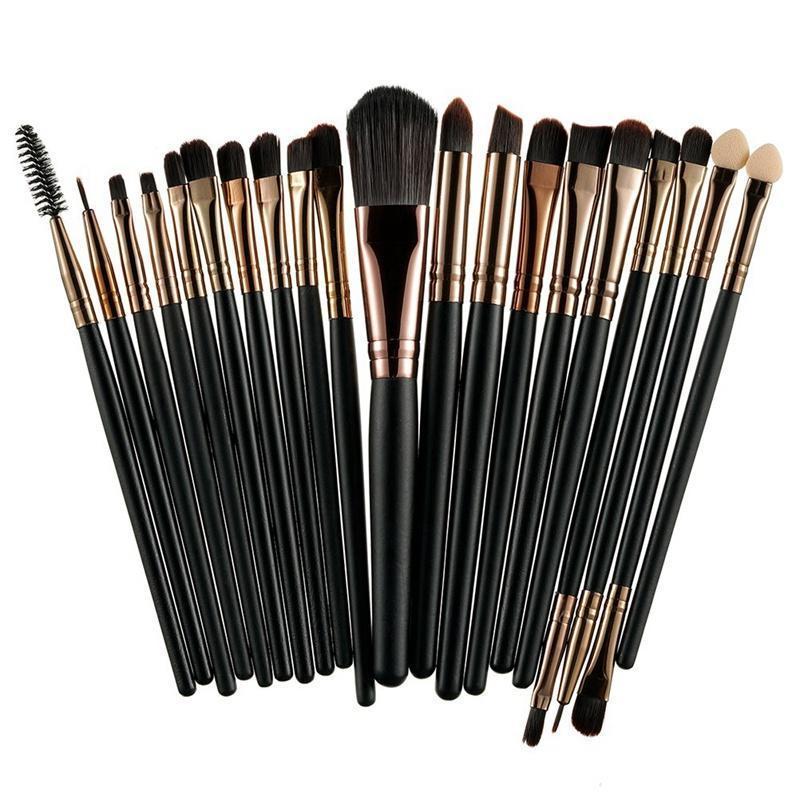 20 pinceaux de maquillage professionnel