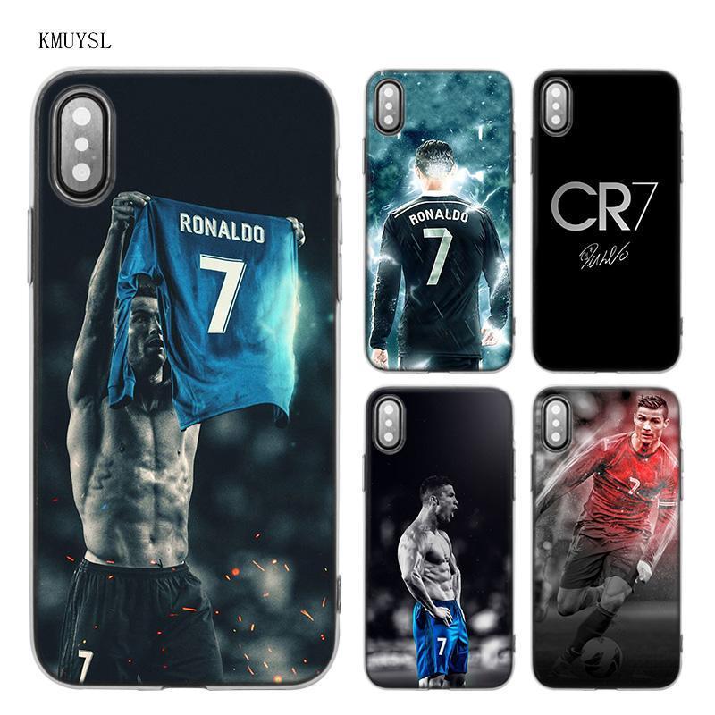 Coque Iphones CR7 en silicone