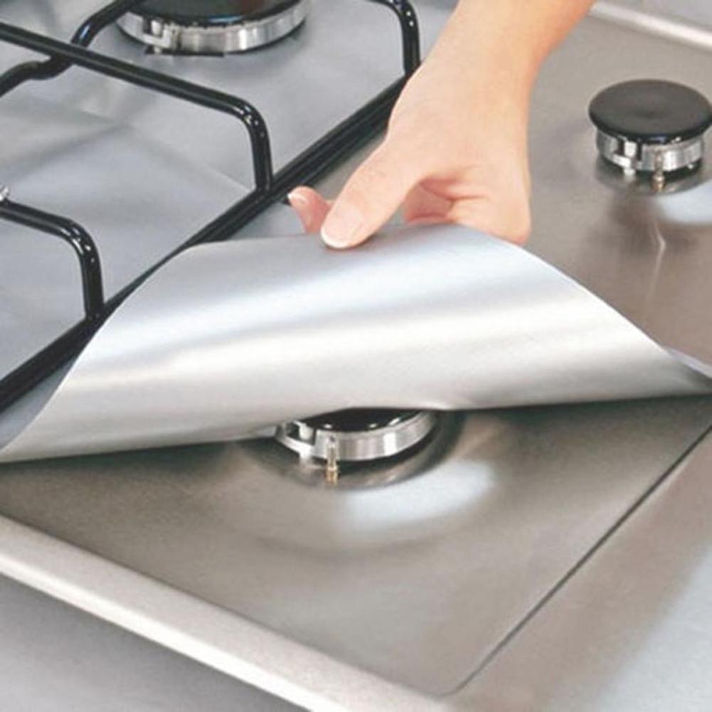Protecteur de cuisinière réutilisable ( 4 pièces )