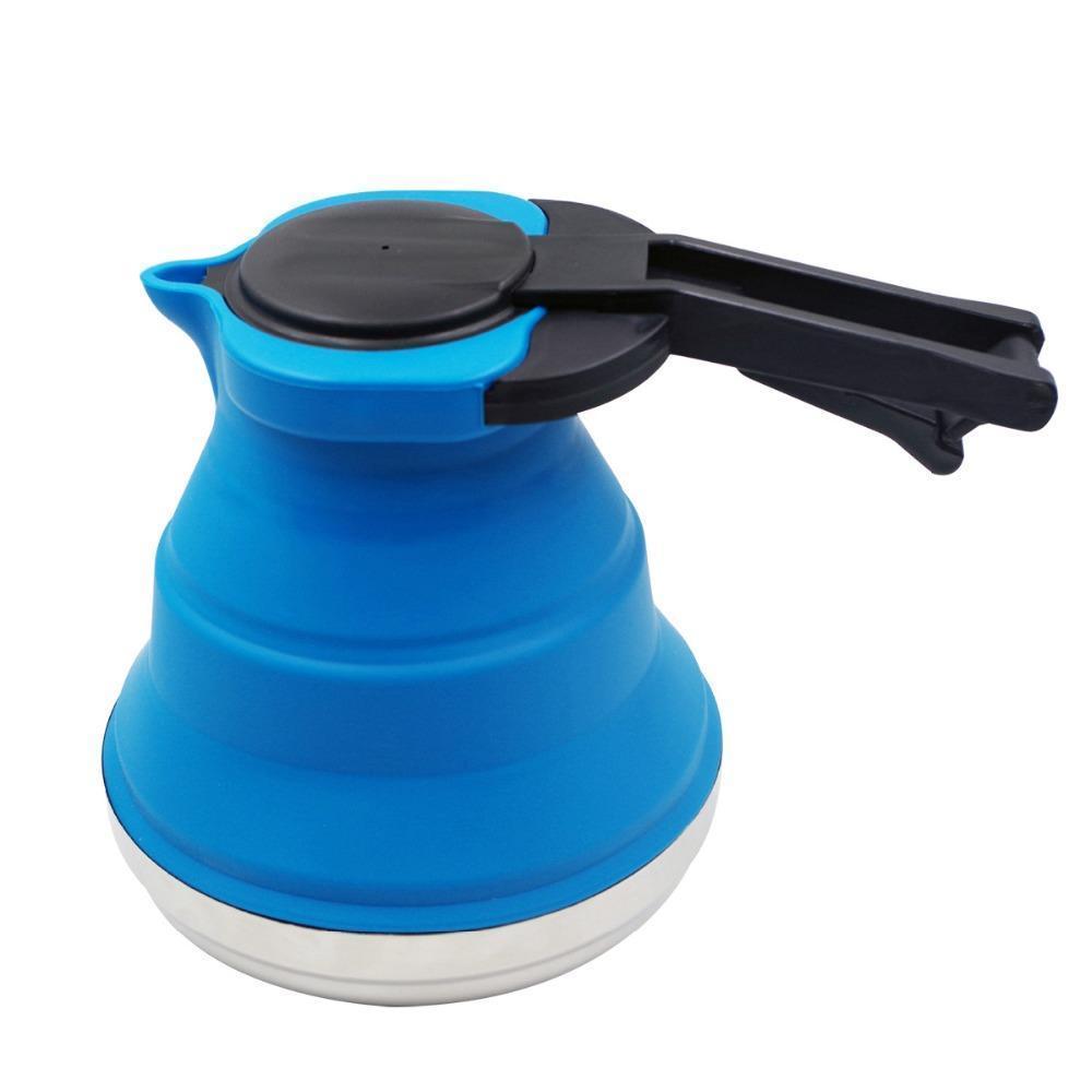 Bouilloire pliable en silicone