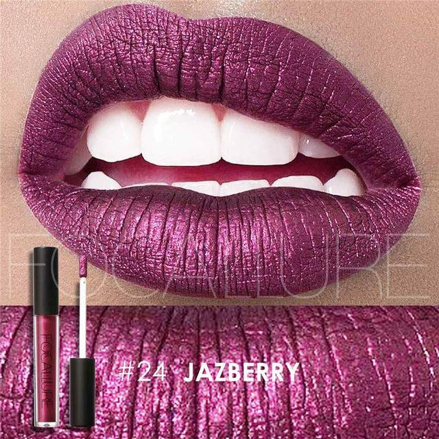 Rouge à lèvres liquide imperméable