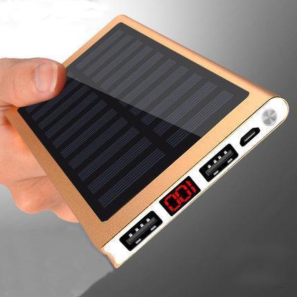 Chargeur solaire LCD pour smartphones et tablettes