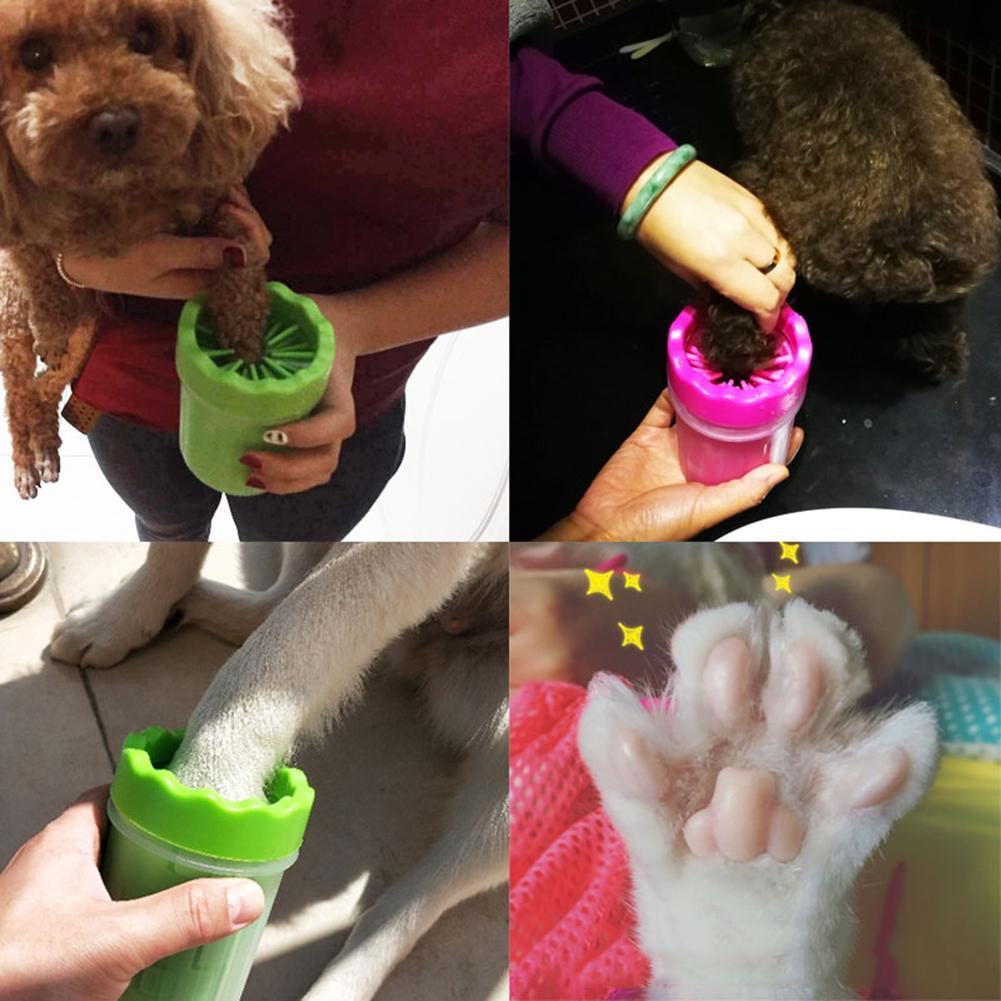 Nettoyeur de pattes pour chien & chat