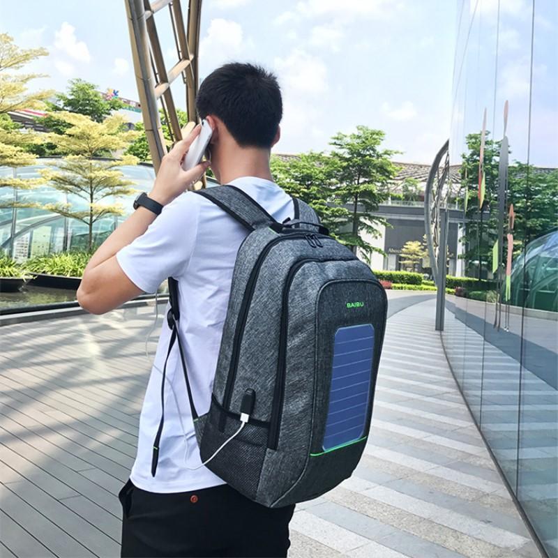Super sac à dos solaire
