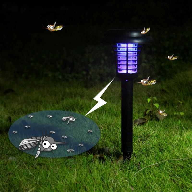 Lampe solaire anti insectes