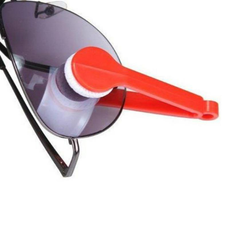 Mini nettoyeur lunettes microfibre ( 3 pièces )