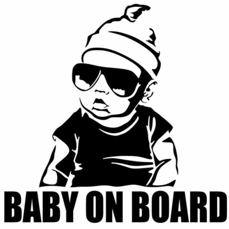 Stikers voiture bébé à bord