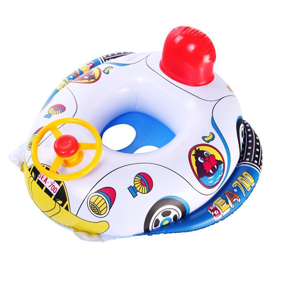 Bouée gonflable en forme voiture