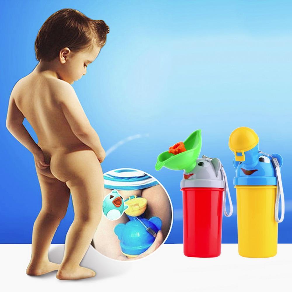 Urinoir d'urgence mobile pour fille et garçon