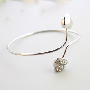 Bracelet Femme Double Coeur